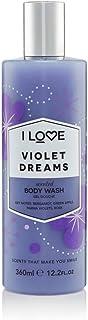 I Love Body Wash Violet Dreams, 360 ml