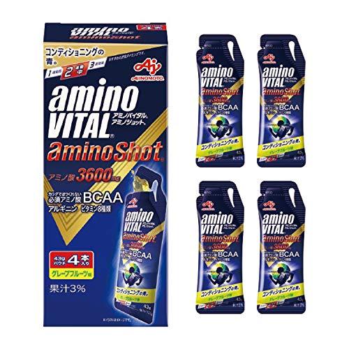 味の素 「アミノバイタル®アミノショット®」 グレープフルーツ味 43g×4袋