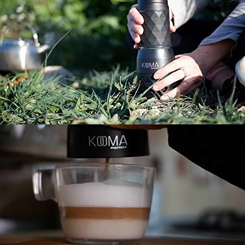 Kooma espresso Cafeteras para espresso