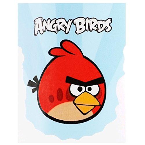 Angry Birds Fleece-decke, Kinder Tagesdecke/Kuscheldecke EDEL