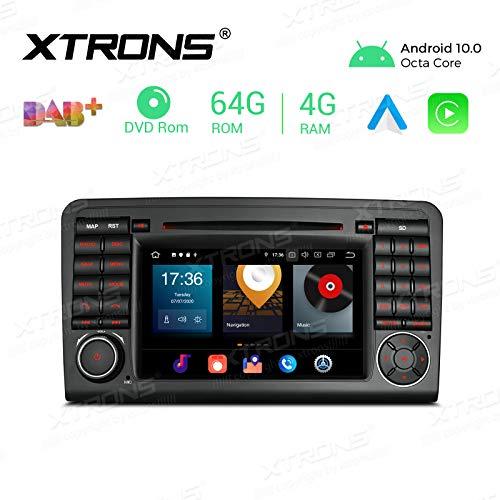 XTRONS 7' Android 8.0 Octa Core 4G RAM 32G ROM coche estéreo HD Digital Multi-Touch Screen Reproductor DVD DVR Monitor de Presión de Neumáticos Wifi OBD2 para Mercedes Benz X164 W164 ML GL
