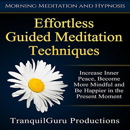 Effortless Guided Meditation Techniques audiobook cover art