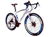 Helliot Bikes Sport 02, Bici da Strada Unisex – Adulto, Bianco e Blu, M-L