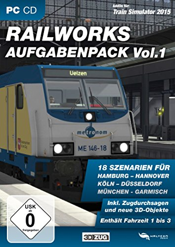 Train Simulator 2015 - Railworks Aufgabenpack Vol. 1 (TS 2014/15) (Add-On)