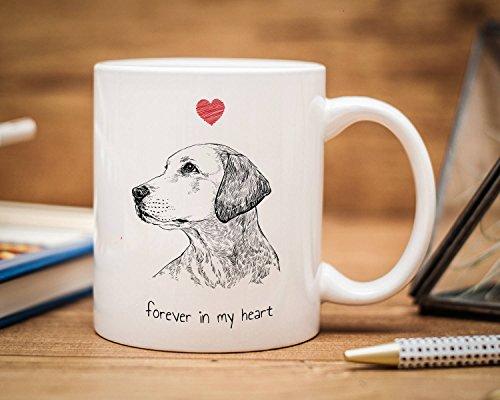 Sp567encer - Taza Personalizada para Mascotas, para Perros, Gatos y Ma