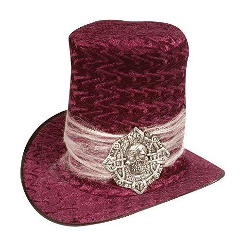 WIDMANN 8532V - Sombrero de Halloween, diseño de calavera