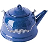 Stansport Enamel Tea Kettle, 3 Quart, Blue (10955)