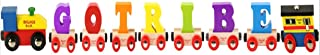 Bigjigs Rail CustomTrain - Pick Your Own 7 Letters and Numbers!