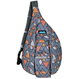 KAVU Rope Bag - Sling Pack for Hiking, Camping, and Commuting - Mod Tile