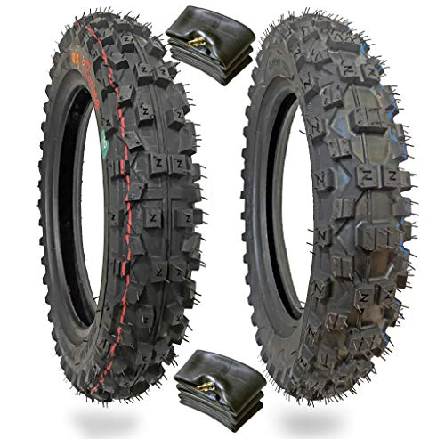 WIG Racing Tire and Inner-tube Combo 2.50x10 and 2.75x10 for CRF50, PW50, TTR50, XR50, DR-Z50, SSR50