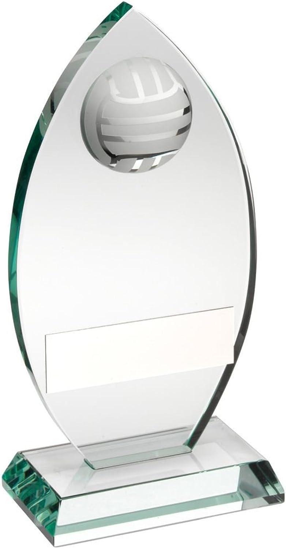 Lapal Dimension Jade Glas Glas Glas Gedenktafel mit Hälfte Volleyball Trophy – 6,75 in B07FBR1RMZ  Gewinnen Sie hoch geschätzt a2b742