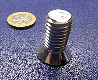 1//2-13 X 2 1//4 Slotted Flat Machine Screws 80-82 Degree 18-8 Stainless Steel Package Qty 100