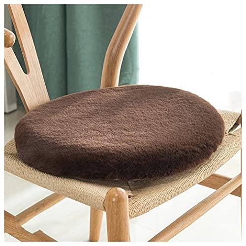 GYL-XF Cuscino Rotondo per Sedia, Cuscino per Sedile in Memory Foam, Cuscino per Sgabello Tatami da Pavimento, Cuscini di Seduta Antiscivolo per Interni, Casa, Cucina, Ristorante, Ufficio, Scuola