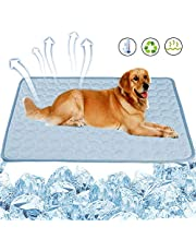 No Branded Mokinga Manta Refrigerante Perro, Manta Refrigerante, Alfombrilla Reutilizable para Mascotas, Alfombrilla De Seda De Hielo Suave para Mascotas De Refrigeración (Tamaño: 50 x 40 cm)