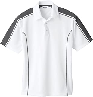 cf2e6ec9231 Ash City Mens Eperformance Extreme Pique Color Block Polo Shirt