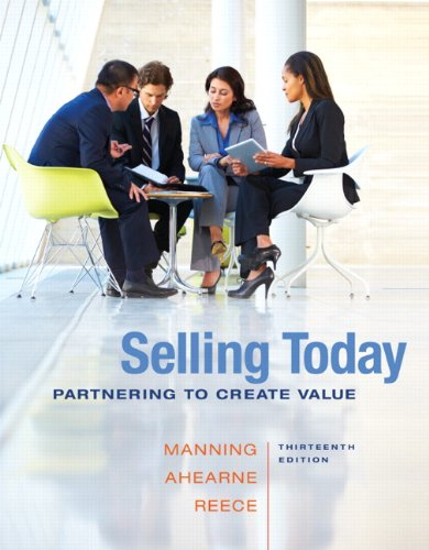 2014 MyLab Marketing with Pearson eText -- Access Card -- for Selling Today: Partnering to Create Value