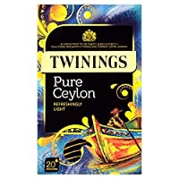Twinings Pure Ceylon Tea 20 per pack by Twinings [並行輸入品]