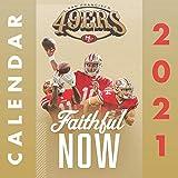 San Francisco 49ers: 2021-2022 calendar - 24 months - 8.5 x 8.5 glossy paper