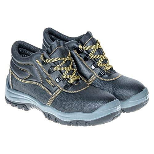 K&G Arbeitsschuhe Regent S1 SCHWARZ Herrenschuhe Sicherheitsschuhe Gartenschuhe Herren Schuhe Arbeitsstiefel mit Stahlkappe (45 EU)