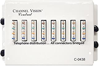 Channel Vision 4x7 110 Telephone Distribution Module (C-0438)