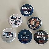 Biden/Harris 2020 (6ボタンセット) - Joe Biden & Kamala Harris 2020 (2.25インチ)