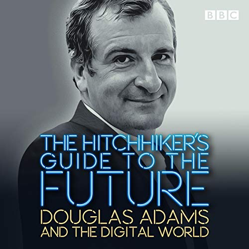 The Hitchhiker's Guide to the Future audiobook cover art