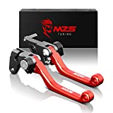 MZS Pivot Levers Brake Clutch Foldable CNC Compatible with Honda CRF150F CRF 150F 2003-201...