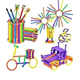 Toysale Assembly Colorful Educational Building Smart City Blocks(Include 175+ Stick)for Kids Multicolor