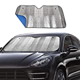 Windshield Sunshade Car Foldable UV Ray Reflector Auto Front Window Sun Shade Visor Shield Shade,Keeps Vehicle Cool -...