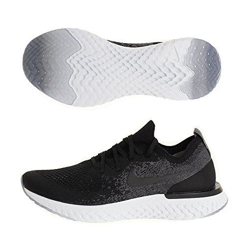Nike Epic React Flyknit, Zapatillas para Hombre, Multicolor Black/Dark Grey/Pure Platinum...