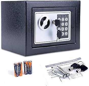Homdox Fireproof Home Digital Security Safe Box Wall