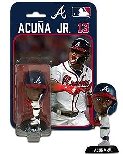 SP Images Ronald Acuna Jr Atlanta Braves Imports Dragon Bobblehead Figure