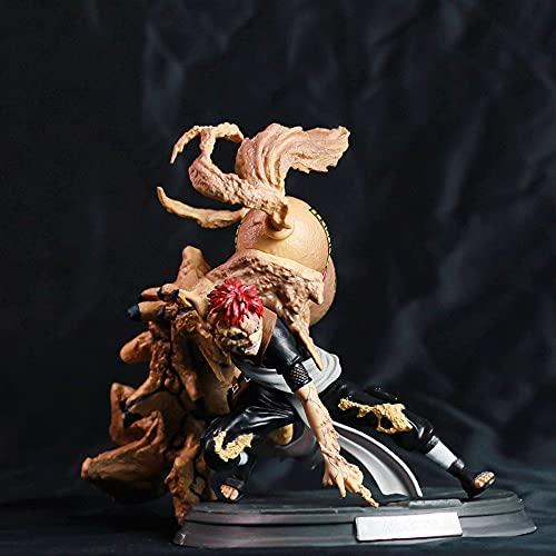 NAMFSR Naruto/Gaara/Ichio Morizuru Hombre animalizado Fengkage/Modelo de Personaje de Anime/Figura PVC Estatua estática Adornos de Anime Juguete de colección Regalo de cumpleaños/Navidad 24