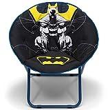 Delta Children Saucer Chair for Kids/Teens/Young Adults, Batman