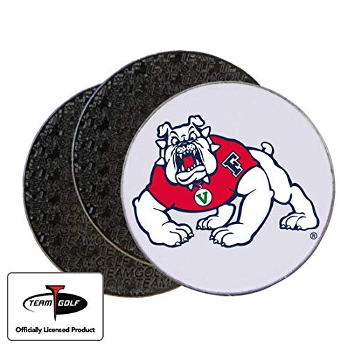 Golfballs.com Classic Fresno State Bulldogs Ball Markers - 3 Pack