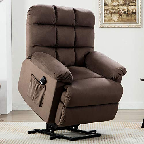 ANJ Power Lift Recliner Chair Safety Motion Reclining Chair for Elderly