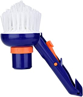 Spas Vacuum Brush, Swimming Pool Step & Corner Brush Pool Step Brush, for Swimming Pool Cleaning