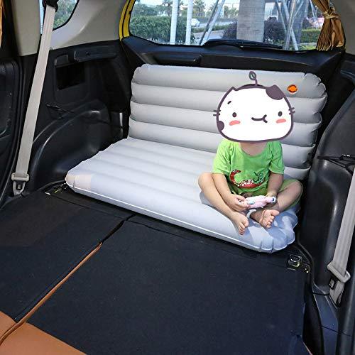 HJFGSAK Auto aufblasbares Bett 100 * 64 * 10cm Aufblasbare Automatratze Tragbare...