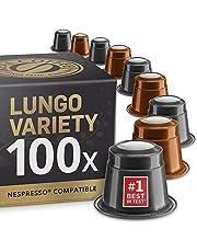 100 Nespresso-compatibele capsules - Biologische en eerlijke handel. Real Coffee