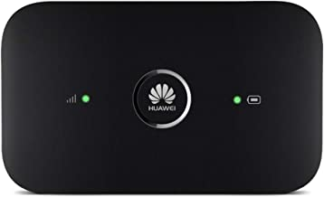 Huawei E5573Cs-322 (Black) 4G LTE Mobile WiFi Hot-Spot (4G LTE in Europe, Asia, Middle East, Africa and Partial LATAM) Unlocked/OEM/Original from Huawei Without Carrier Logo