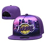 Hanbei Berretto Regolabile Pallacanestro Basketball Lakers Cappellino da Baseball/Tappo Rimbalzo
