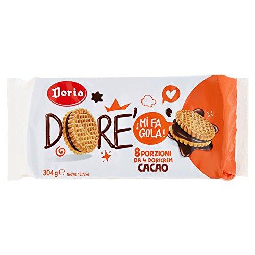 Doricrem Cacao Nocciola Multipack - 304 gr