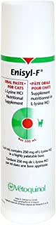 Vetoquinol Enisyl-F Oral Paste: L-Lysine Supplement for Cats - Tuna Flavor, 3.4oz (100mL) Pump