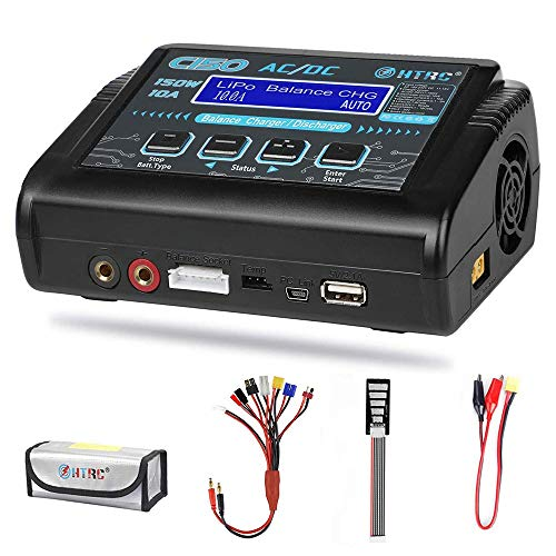 Haisito LiPo Charger,Battery Balance Charger Discharger 150W 10A AC/DC for...