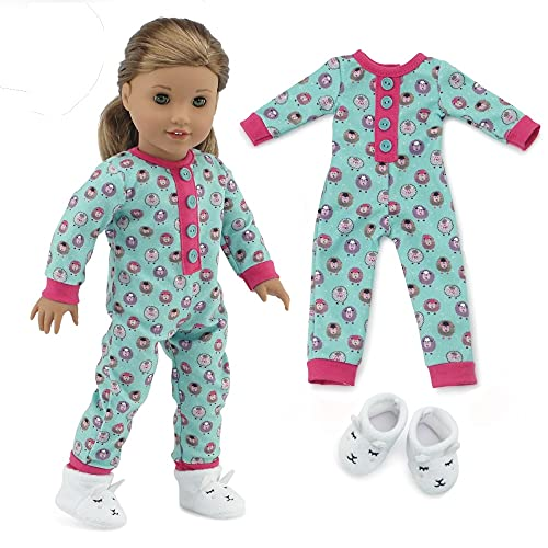 """Emily Rose 18 Inch Doll Clothes PJ Set 