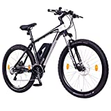 NCM Prague+ E-Bike Mountainbike, 250W, 36V 14Ah 504Wh Akku, 26'/27,5' Zoll (Schwarz+ 27,5')