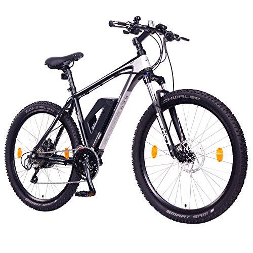 "NCM Prague Plus Bicicleta eléctrica de montaña, 250W, Batería 36V 14Ah 504Wh (Negro 27,5"")"