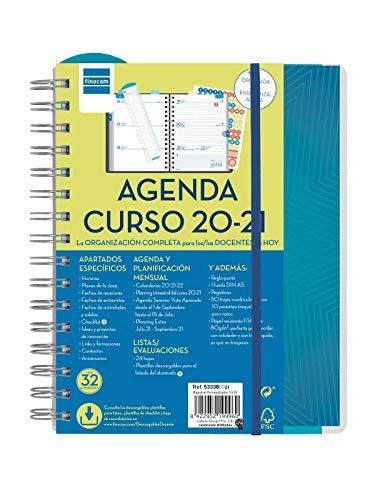 Finocam - Agenda Docente 2020-2021 Cuarto - 155x212 Semana...