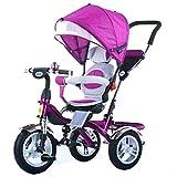 SHOWGG Triciclo de los niños Que rotan, Portable Ligero con 0 a 6 años de...