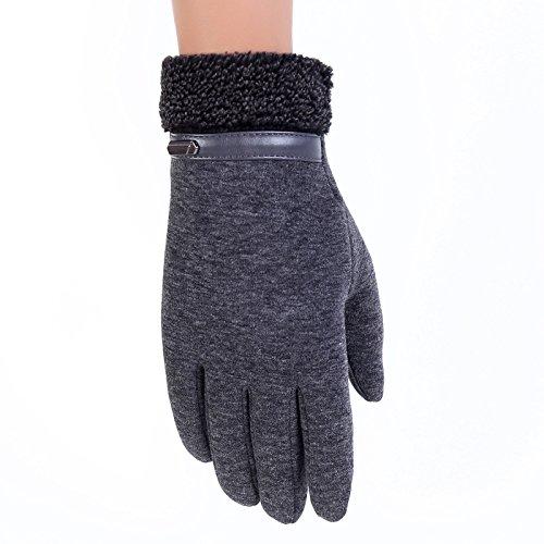 Hanggg Herrenhandschuhe Wintersport im Freien Reiten Touchscreen-Handschuhe fahren warme Handschuhe